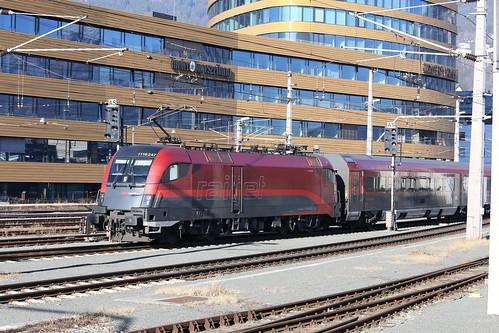 ÖBB 1116 247-8 Railjet, Innsbruck