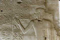 Crown Prince (Chris Irie) Tags: egypt abydos seti rameses relief hieroglyphs