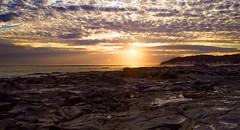 Night Light (RP Major) Tags: sunset sky clouds ocean rocks sea light sun cape paterson