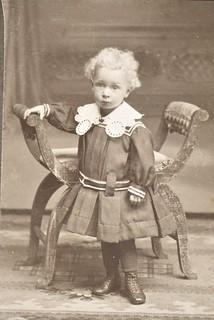 Past Times - Junge/Mädchen um 1890