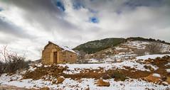 Old stone shack (zedamnabil) Tags: shack shelter algeria algerian algerie rahbat batna snow snowy neige berbere amazigh chaoui mountain mont winter hiver