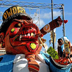 Pwofit - Trompe a Fric (pom.angers) Tags: canoneos400ddigital 2010 february carnaval sculpture statue fortdefrance martinique 972 antilles westindies francedoutremer outremer amérique america europeanunion france