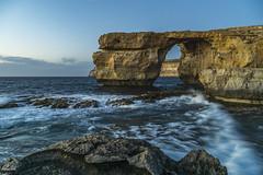One of the last days of the Azure Window (Zisimos Zizos Photography) Tags: azure window malta gozo seascape rocks longexposure