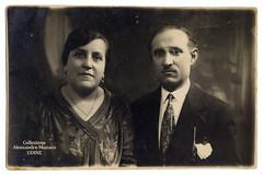 Portrait from Trieste 1929 (spadon75) Tags: trieste friuliveneziagiulia 1929 realphotopostcard catolinapostaleitaliana