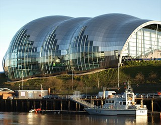 HMS Example (P165) and Sage Concert Hall Gateshead