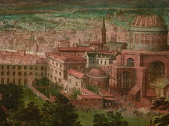 CLEVE (van) Hendrick III ,1580 - Vue sur les Jardins du Vatican et la Basilique St-Pierre (Custodia) - Detail 05 (L'art au présent) Tags: art painter peintre details détail détails detalles painting paintings peinture peintures 17th 17e peinture17e 17thcenturypaintings 17thcentury detailsofpainting detailsofpaintings tableaux custodia custodiafoundation paris france hendrickiiivancleve hendrick hendrickiii cleve vancleve dutchpaintings peintreshollandais dutchpainters jardinsduvatican basiliquestpierre basilique basilica stpierre jardins gardens parc park vatican italie italia italy church panorama landscape house houses maisons figure figures people personnes plaisirs jeux games game fun play pleasure montagnes mountain mountains abruzzes 7collinesderome rome roma sevenhillsofrome saintpierrederome saintpierre