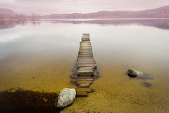 Loch Ard ruined pier (fenixstrat) Tags: lake landscape loch ard scotland