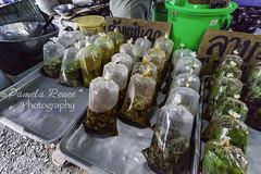 Farmers Market, Phuket, Thailand (pamelarenee) Tags: to do people market walking child adult shopping food fruits phuket thailand