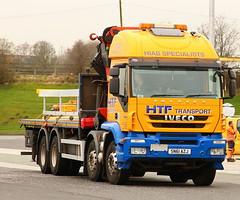 IVECI Trakker HTF Crane Hi-aB Oldham SN61AZJ Frank Hilton IMG_5052 (Frank Hilton.) Tags: classic truck lorry eight wheel maudsley aec atkinson albion leyalnd bristol austin outside heavy haulage crane 8 axle