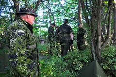 The old soldier (postmand_b) Tags: s tarp homeguard hjemmevrnet hjv tarpshelter teltflage homeguarddenmark