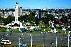 """Setting up Plymouth Pride on Plymouth Hoe • <a style=""""font-size:0.8em;"""" href=""""http://www.flickr.com/photos/66700933@N06/20009543123/"""" target=""""_blank"""">View on Flickr</a>"""