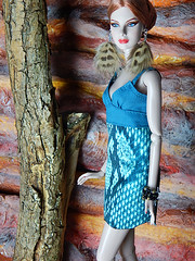 Heartfeathers (Levitation_inc.) Tags: face fashion toys design doll nu handmade ooak barbie levitation clothes poppy fr parker fashions integrity fr2 nuface