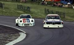 IMSA GT 1975 Redman leads Gregg (nwmacracing) Tags: gregg brianredman porschersr imsagt1975 bmwcls