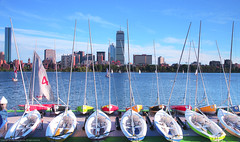 Summer in the city (pinkpixel (Slava)) Tags: city cambridge summer usa beautiful boston architecture ma boats pretty day cityscape mit massachusetts awesome charlesriver summertime ur slava bostonist memorialdr daystory summerstory daypanorama svetoslavaslavova