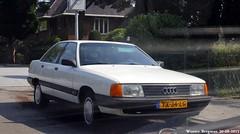 Audi 100 1990 (XBXG) Tags: auto old holland classic netherlands car sedan vintage germany deutschland automobile nederland voiture german 100 audi paysbas hilversum 1990 deutsch ancienne duits allemande audi100 yx34lg