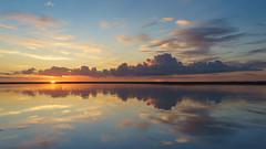 Jurmala (Andrey) Tags: blue autumn sunset sky water clouds landscape seaside aqua gulf outdoor sony mirrors baltic latvia lv jurmala lettonie rx1 dzintari