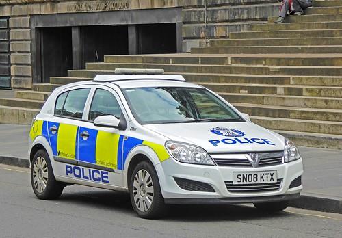 VAUXHALL Astra - POLICE Scotland