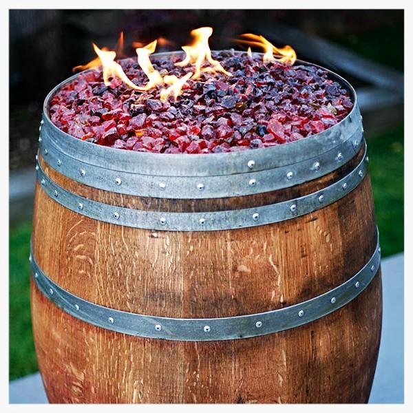 Vin de Flame Vhino fire barrell