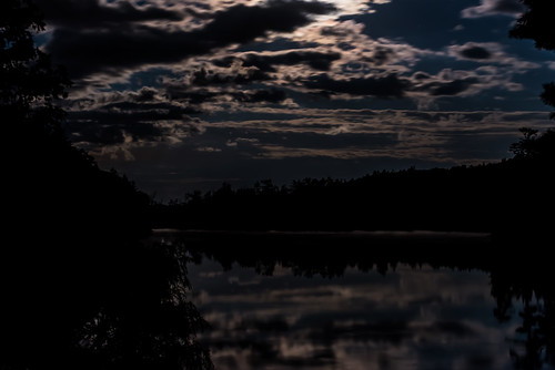 Lake at Night-1