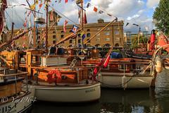 St Katherine's Dock (yve1964) Tags: london water thames docks canon river boats boat ship yacht yachts riverthames dockyard dickensinn portwey stkathrinesdock