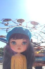 Kiki at the carnival