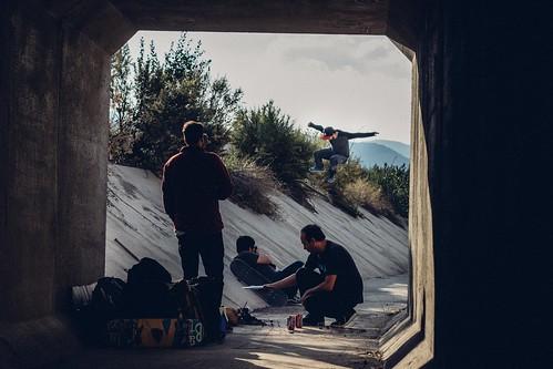 Matias Lara  kickflip secret spot