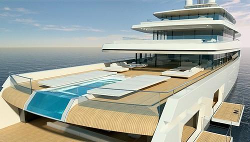 Концепт яхты Acquaintance от Vitruvius Yachts