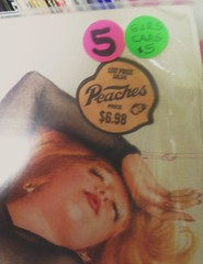 "Cars ""Candy-O"" with Original Peaches Price Tag (Twang Your Head) Tags: price logo sticker vinyl cheesecake lp record peaches 3313"