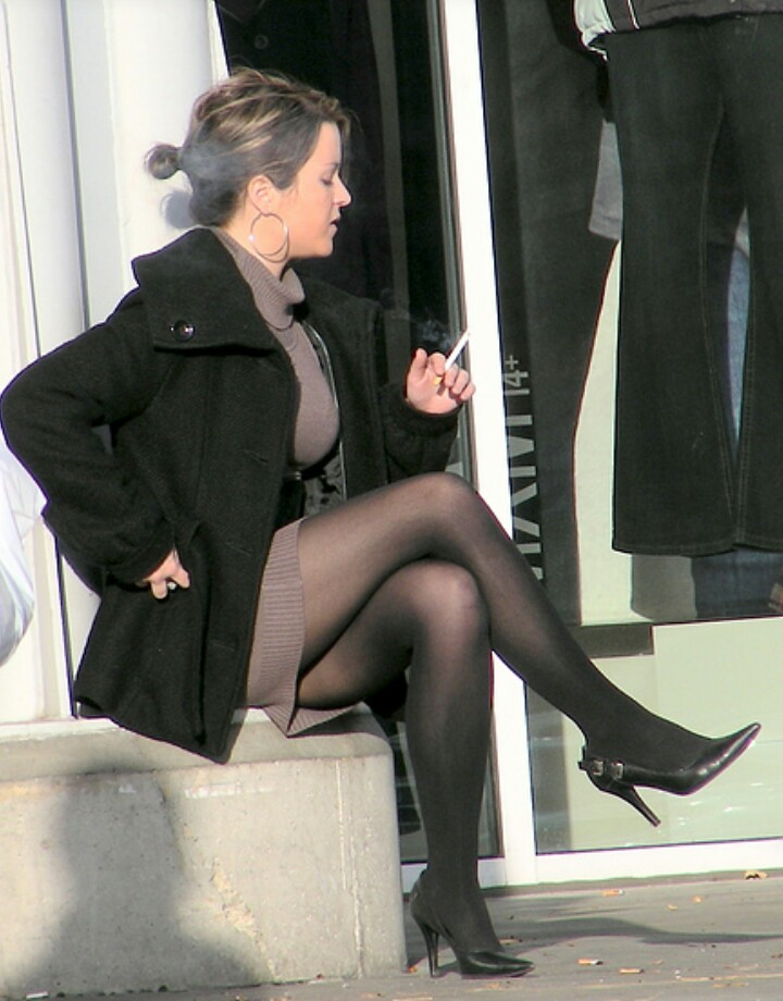 Pantyhose smokers galleries my smoking