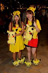 Pikachu (blueeyes_inoki) Tags: halloween hawaii waikiki honolulu 2015