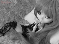 Jeu d'Amour | 6 (Little Queen Gaou) Tags: game love photography blackwhite doll romance amour groove pullip jeu angelicpretty sfoglia taeyang