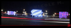 """Sensations Futures"" dans la nuit (mamnic47 - Over 6 millions views.Thks!) Tags: paris reflets lumires placedelaconcorde pavillons photodenuit saintgobain img5888 effetsdelumires miseenlumires pavillonssensationsfutures anniversairesaintgobain 350anssaintgobain"