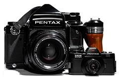 5D-6805-400 (ac | photo) Tags: camera film vintage mediumformat studio pentax takumar 110 whitebackground commercial filmcamera product asahipentax pentaxauto110 110format smctakumar tabletopphotography asahipentax67 pentaxauto110super