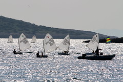 IMG_8832 (stig munchaus) Tags: sailing optimist vouliagmeni
