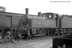 c.06/1957 - Gloucester Barnwood (22B) MPD. (53A Models) Tags: railroad train railway gloucestershire steam gloucester locomotive midlandrailway 0f mpd britishrailways barnwood 22b deeley 41535 040t