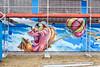 flying fishy (mrzero) Tags: fish wall mos germany graffiti mural baloon style meeting spray spraypaint mrzero meetingofstyles
