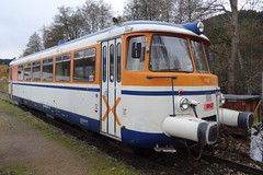 OTB Diesel motor unit N VT9. (Franky De Witte - Ferroequinologist) Tags: de eisenbahn railway estrada chemin fer spoorwegen ferrocarril ferro ferrovia