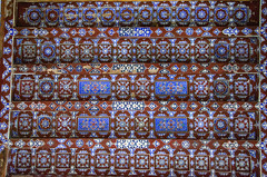 Cairo Northern Cemetery Khanqah of Sultan al-Ashraf Barsbay (1432) Ceiling Detail (Bruce Allardice) Tags: egypt ceiling cairo sultan paintedceiling mamluk easterncemetery northerncemetery khanqah sultanalashrafbarsbay alashraf barsbay tombsofthecaliphs