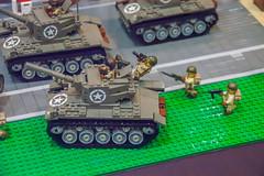Iron Giant Protect! (SEdmison) Tags: california lego military irongiant convention santaclara bricksbythebay bricksbythebay2015