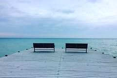 13 December 2015 (Fogel's Focus) Tags: blue lake square december lakemichigan squareformat clarendon elnino 2015 iphoneography instagramapp 60degreesindecember