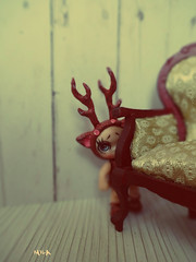 ....   (chocomila) Tags: portrait people flower monster work garden costume high doll handmade craft hobby mattel repaint  repainted   monsterhigh monsterhighdolls jellington  unniedolls  gooliopejellington  freakduchic gooliope  goliopejellington goliope repaintm