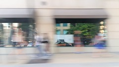 In The Window (michael.veltman) Tags: from a cab chicago illinois reflection window