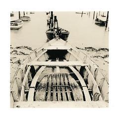 Fishing boats, Ilho do Frade (Vitoria, Brazil) (terra_monk) Tags: lith fomabrom darkroom moersch