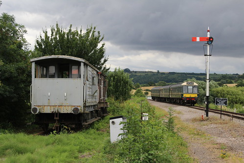 L425 approaches Winchcombe on 29-7-16