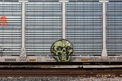 (o texano) Tags: houston texas graffiti trains freights bench benching krown