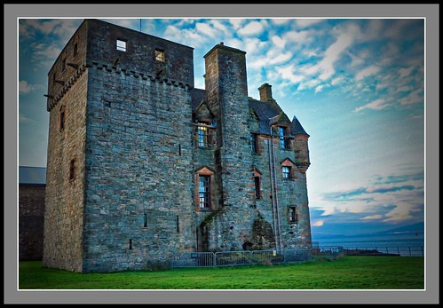 Newark Castle, Port Glasgow. Inverclyde.