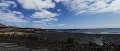 Black Atlantic Beach Pano (Paolo_Siciliano) Tags: panorama pano black beach sky clouds peace seascape seashore seasiders nikon d3200 flickr estrellas flickrtravelaward