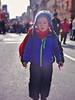 Chinese New Year confetti walk