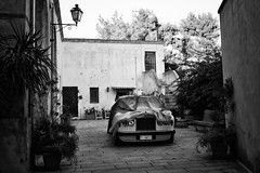 ;ercedes a riposo - Oria - Brindisi (Stefano Trojani) Tags: oria brindisi puglia salento bw blackandwhite black street south italy italia