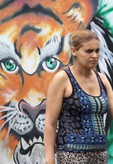Por Aí-Grafite-Diadema. (nariobarbosa) Tags: porai tigre rua street art urbano muro diadema saopaulo brasil brazilian